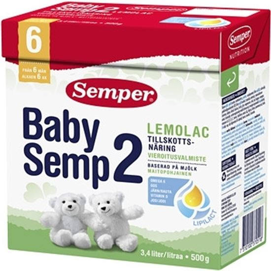 Bild på Semper Babysemp2 Lemolac Från 6m 500g