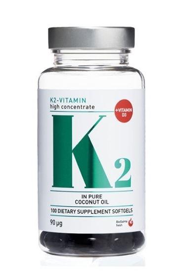 Bild på Biosalma K2-vitamin 90µg 100 kapslar