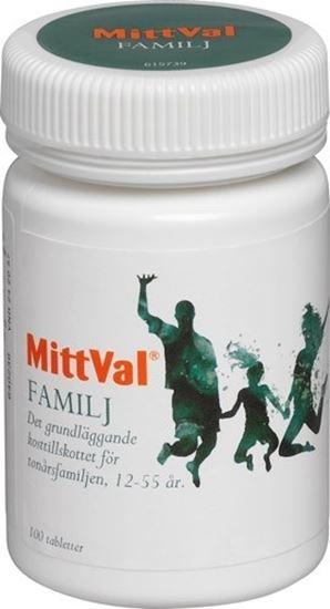 Bild på MittVal Familj 100 tabletter
