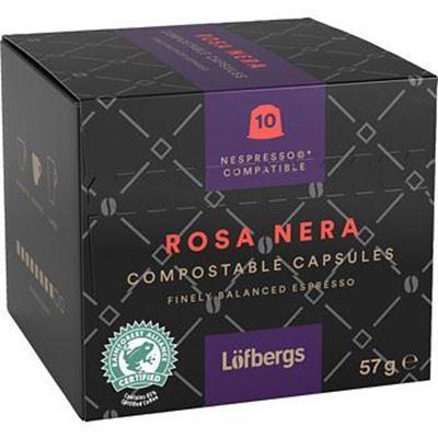 Bild på Löfbergs Rosa Nera Espresso Kapsel 10 x 5,7g