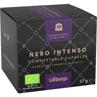 Bild på Löfbergs Nero Intenso Espresso Kapsel 10 x 5,7g