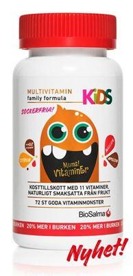 Bild på BioSalma Multivitamin Kids 72st