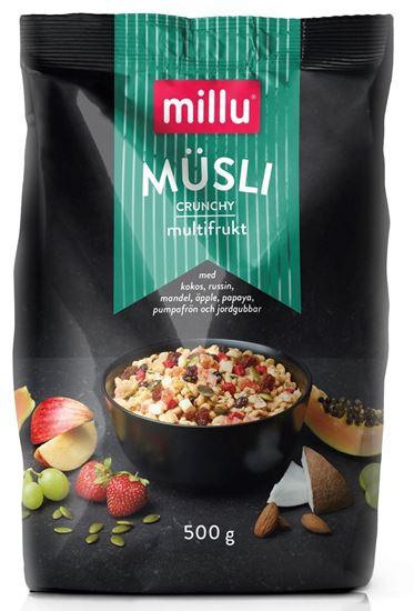 Bild på Millu Crunchy Müsli Multifrukt 500g