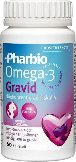 Bild på Pharbio Omega-3 Gravid 60 kapslar