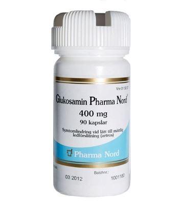Bild på Pharma Nord Glukosamin, kapsel, hård 400 mg 90 st