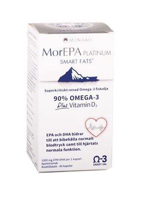 Bild på MorEPA Platinum 25D 60 kapslar