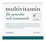 Bild på New Nordic Multivitamin för gravida och ammande 90 st