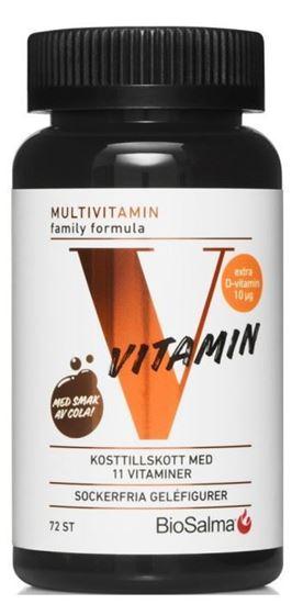 Bild på BioSalma Multivitamin Family 72 st