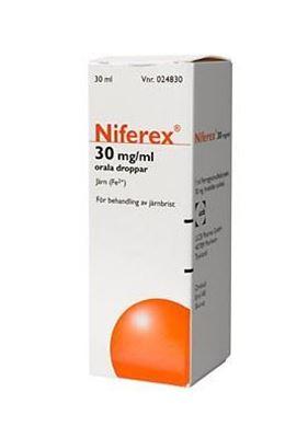 Bild på Niferex orala droppar 30 mg/ml, 30 ml