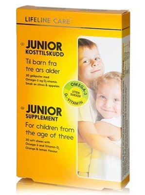 Bild på Lifeline Care Junior 30 kapslar