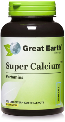 Bild på Great Earth Super Calcium 750 mg 100 tabletter