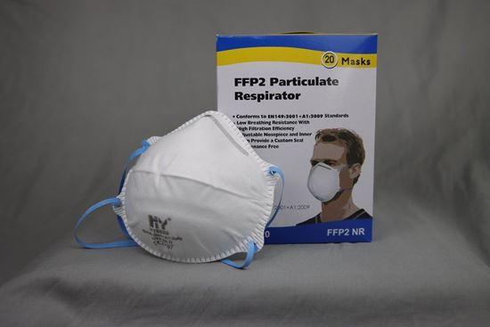 Bild på HY 8620 FFP2 Andningsmask CE-godkänd 20-pack